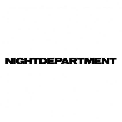 free vector Nightdepartment