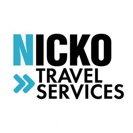 free vector Nicko travel services 0