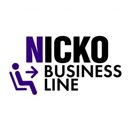 free vector Nicko business line