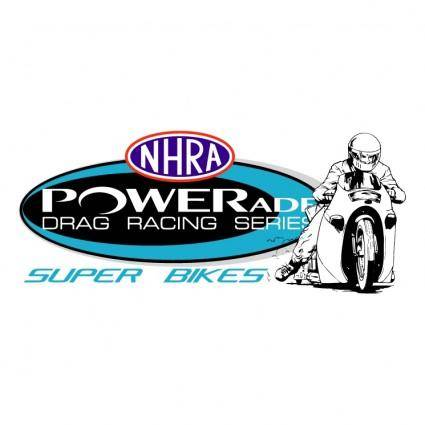free vector Nhra powerade super bikes