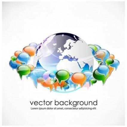 free vector Business concept dialog trend vector 2