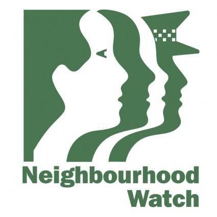 free vector Neighbourhood watch