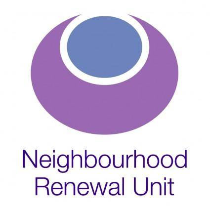 Neighbourhood renewal unit