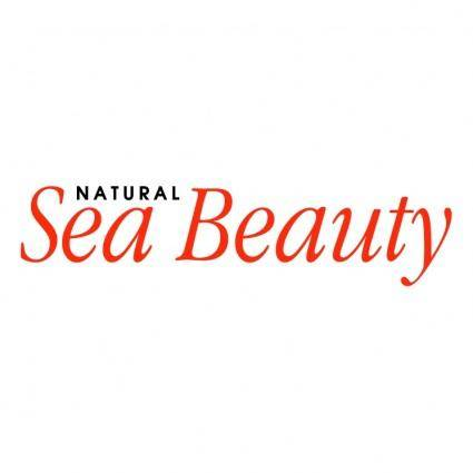 free vector Natural sea beauty