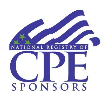 National registry of cpe sponsors 0