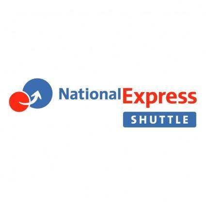 free vector National express shuttle