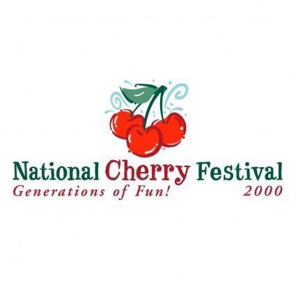 free vector National cherry festival 7