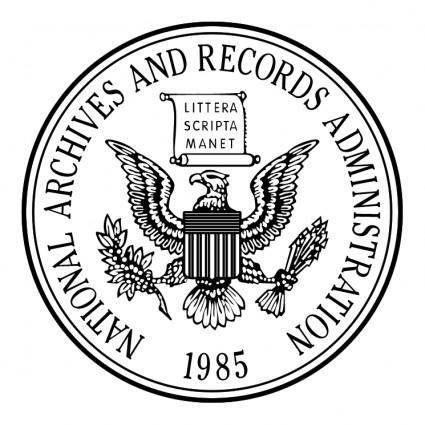 free vector National archives and records administration