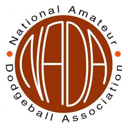 free vector National amateur dodgeball association