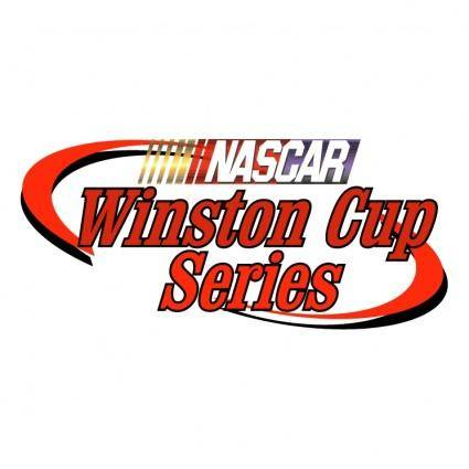 free vector Nascar winston cup series