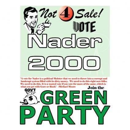 free vector Nader 2000