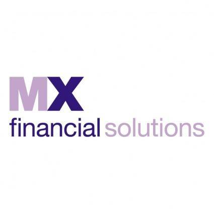 free vector Mx financial solutions