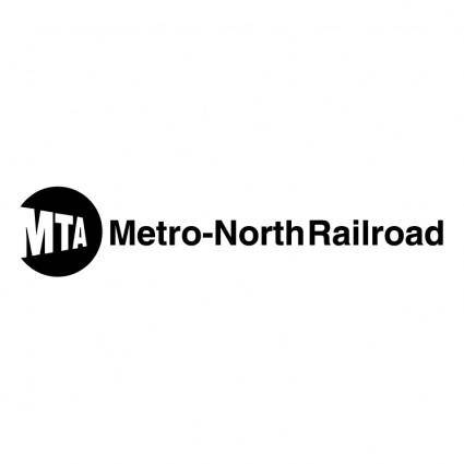 free vector Mta metro north railroad