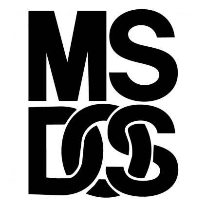 free vector Ms dos 0