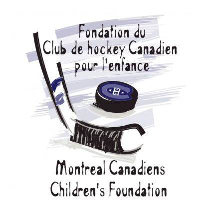 free vector Montreal canadiens childrens foundation