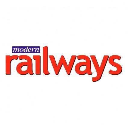 free vector Modern railways