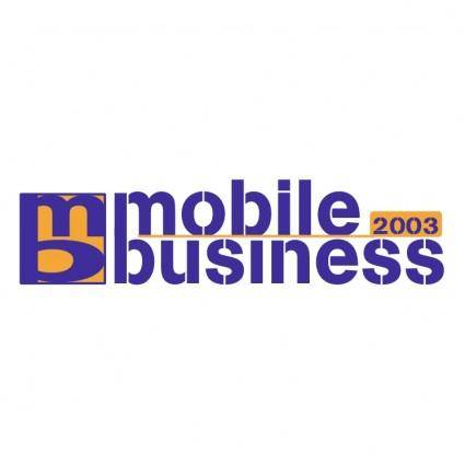 free vector Mobile business 2003