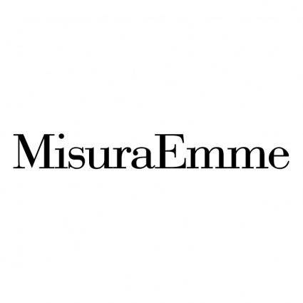 free vector Misura emme