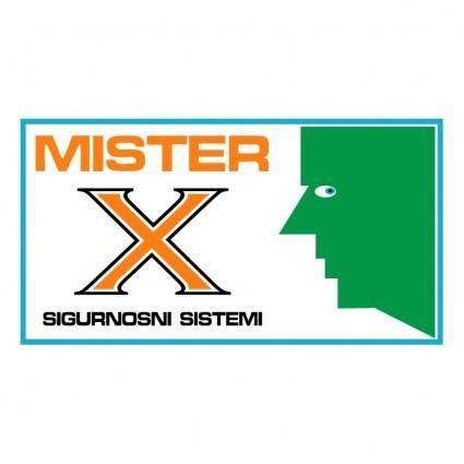 free vector Mister x