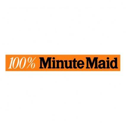 free vector Minute maid 2