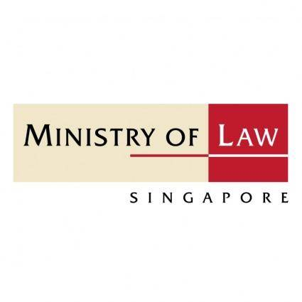 free vector Ministry of law