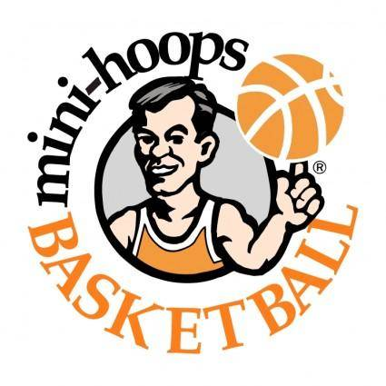 free vector Mini hoops basketball