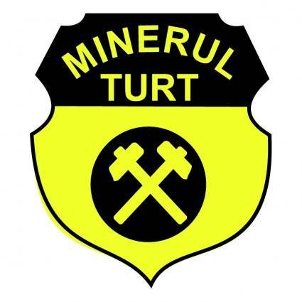 free vector Minerul turt