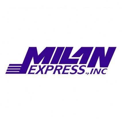 free vector Milan express transportation