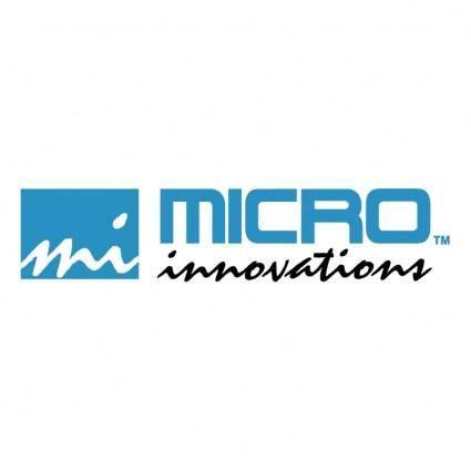 Micro innovations