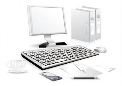 Computer accessories 03 vector