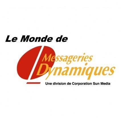 free vector Messagerie dynamique