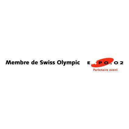 free vector Member of swiss olympic 0
