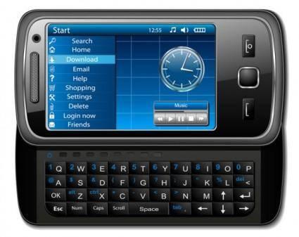 Smartphones 02 vector