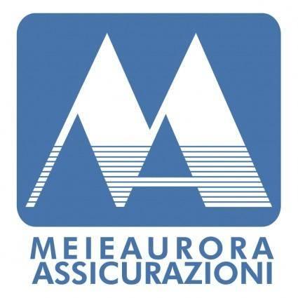 free vector Meieaurora assicurazioni