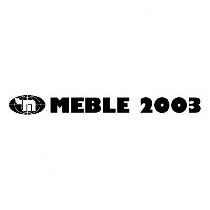 free vector Meble 2003