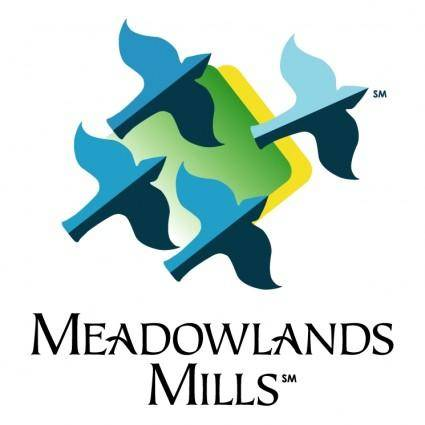 free vector Meadowlands mills