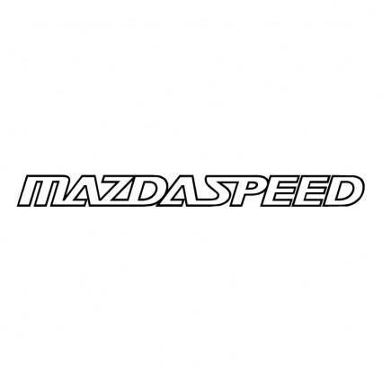 free vector Mazda speed