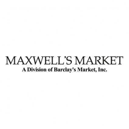free vector Maxwells meat market