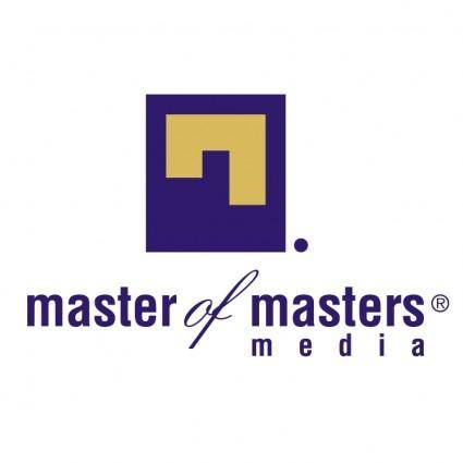 free vector Master of masters media