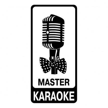 free vector Master karaoke