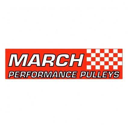 free vector March performance pulleys