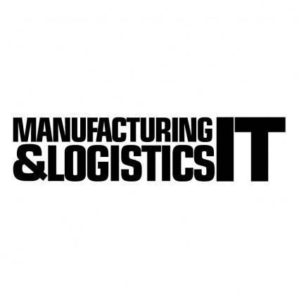 free vector Manufacturing logistics it