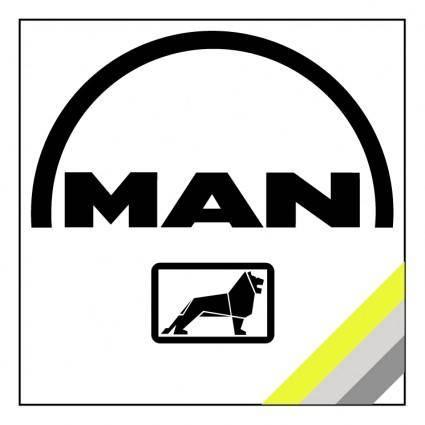 free vector Man service