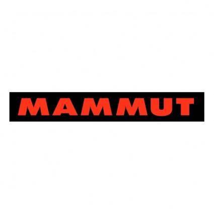 free vector Mammut