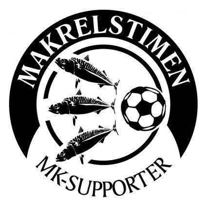 free vector Makrelstimen supporter club