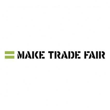 free vector Make trade fair
