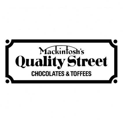 free vector Mackintoshs quality street
