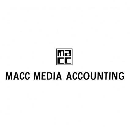 free vector Macc media accounting