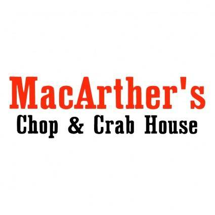 free vector Macarthers chop crab house