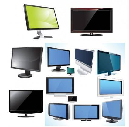 Tv u0026amp monitor vector
